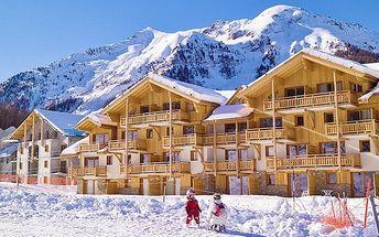 10denní lyžařský zájezd do Francie se 6denním skipasem pro 1 osobu