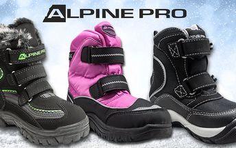Dětská zimní obuv Alpine Pro