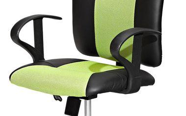 Kancelářské křeslo kancelářská židle King černá / zelená Idea