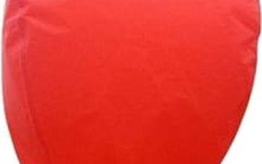 Lampion štěstí - čepice - červená
