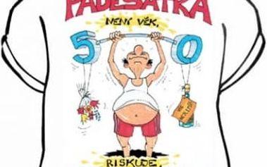 Tričko - Padesátka není věk - L