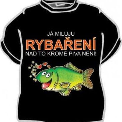 Tričko - Já miluju rybaření - L