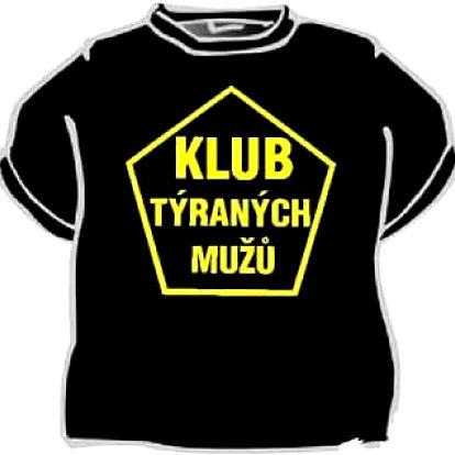 Tričko - Klub týraných mužů - XL