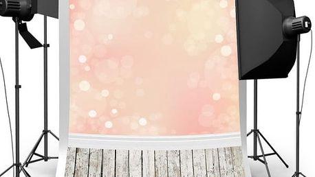 Ateliérové fotopozadí - oranžová záře