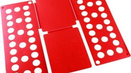 Deska na rychloskládání DĚTSKÉHO oblečení - červená