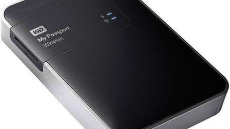"WD My Passport Wireless 1TB Ext. 2.5"" USB3.0, Black"