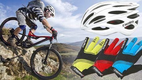 Cyklistická přilba a ochranné rukavice Pell's