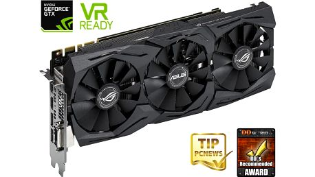 ASUS GeForce GTX 1080 ROG STRIX-GTX1080-A8G-GAMING, 8GB GDDR5X - 90YV09M2-M0NM00