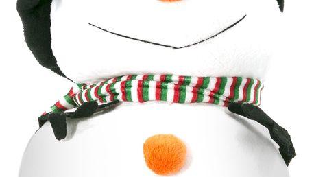 Plyšový sněhulák Vánoční hračka