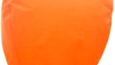 Lampion štěstí - čepice - oranžová