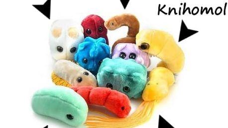 Obří plyšoví mikrobi - VÝPRODEJ
