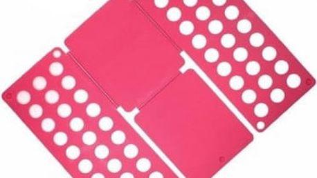 Deska na rychloskládání DĚTSKÉHO oblečení - růžová