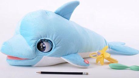 Interaktivní plyšový delfín Blu Blu
