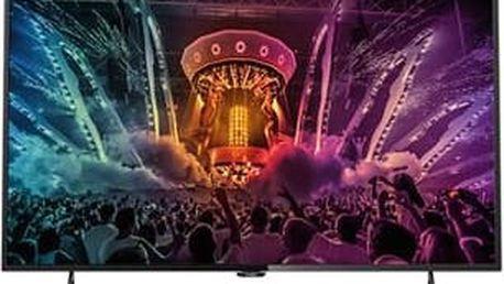 Philips 43PUS6101 - LED televize, 108cm, Ultra HD, DVB-T2/C/S2, Smart TV, black; 43PUS6101/12