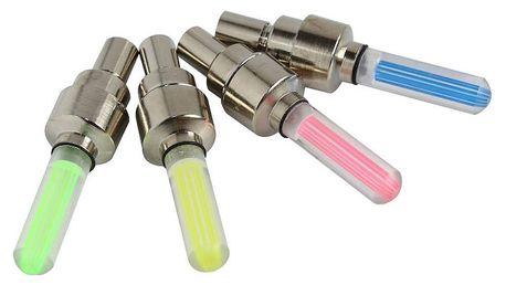 Svítící ventilky - žlutá