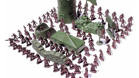 Set plastových vojáčků - 100 ks - dodání do 2 dnů