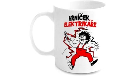 Vtipný hrnek - Elektrikáře