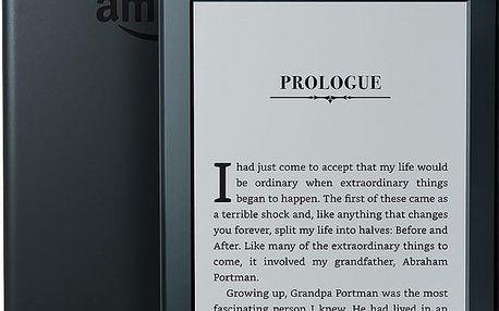 Amazon Kindle 8 Touch 2016 verze s reklamou černý/black - B00ZV9PXP2