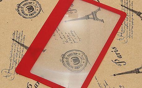 Balení zvětšovačích kartiček
