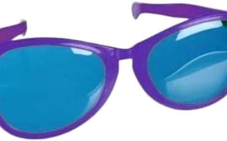 Brýle - gigant - fialová