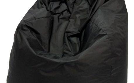 Sedací vak JUMBO černý V7
