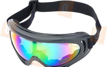 Univerzální motorkářské brýle - tónovaná skla - dodání do 2 dnů