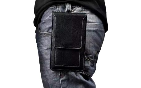 Kapsa na smartphone na opasek - černá - dodání do 2 dnů