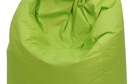 Sedací vak, pytel JUMBO zelený Idea