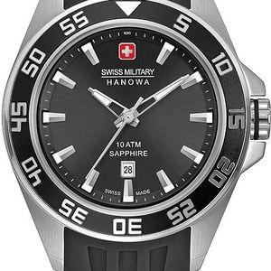 Swiss Military Hanowa 6221.04.007 + pojištění hodinek, doprava ZDARMA, záruka 3 roky