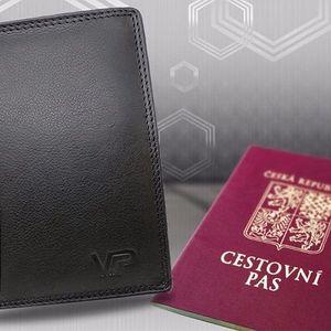Kožená peněženka George Passport