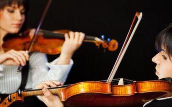 Zima ve znamení klasiky: Vstupné na 2 koncerty