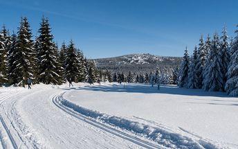 Lyže, běžky i turistika s polopenzí v Jizerkách