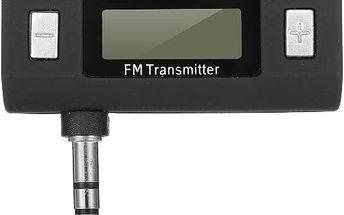 FM transmitter na telefon a MP3 s handsfree