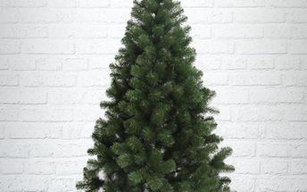 Umělý vánoční stromek - Jedle Gold přírodní 220 cm