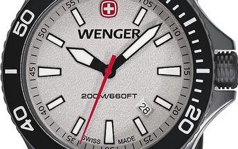 Wenger Sea Force 01.0641.107 + pojištění hodinek, doprava ZDARMA, záruka 3 roky