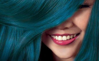 Kreativní účes: extravagantní barva pro odvážné