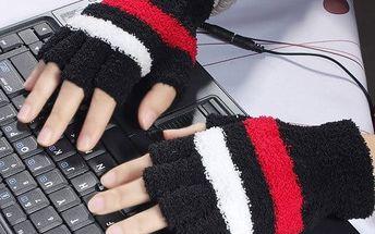 Nahřívací rukavice pro studené ruce. Během minutky budete mít ruce v teple.