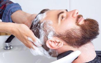 Balíček pro pány: Péče o vlasy, masáž a zábal