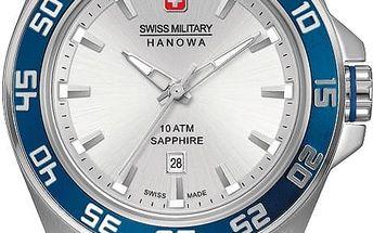 Swiss Military Hanowa 6221.04.001.03 + pojištění hodinek, doprava ZDARMA, záruka 3 roky