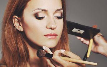Individuální minikurz líčení + štětec na make up