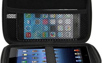 Cestovní pouzdro na GPS a jiná zařízení do 7'' - černé