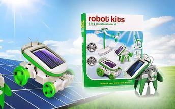 Solar Robot Kits 6v1