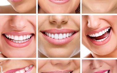 Bělení zubů bez peroxidu - bezbolestná metoda bez dlouhotrvající citlivosti zubů.