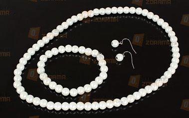 Perličkový set šperků - dodání do 2 dnů