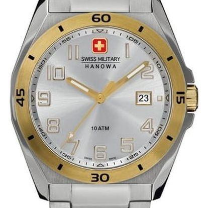 Swiss Military Hanowa 5190.55.001 + pojištění hodinek, doprava ZDARMA, záruka 3 roky