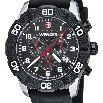 Wenger Roadster Chrono 01.0853.104 + pojištění hodinek, doprava ZDARMA, záruka 3 roky