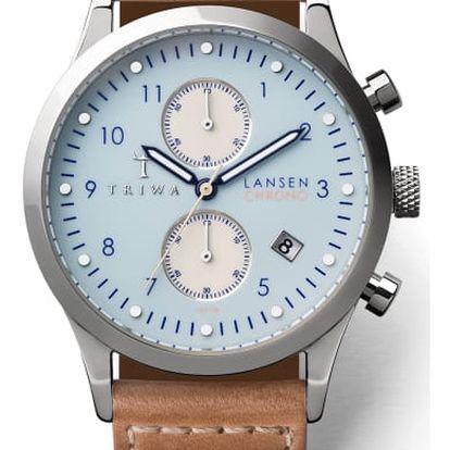 Triwa Sky Lansen Chrono Tan Sewn Classic TW-LCST110-SC010612 + pojištění hodinek, doprava ZDARMA, záruka 3 roky