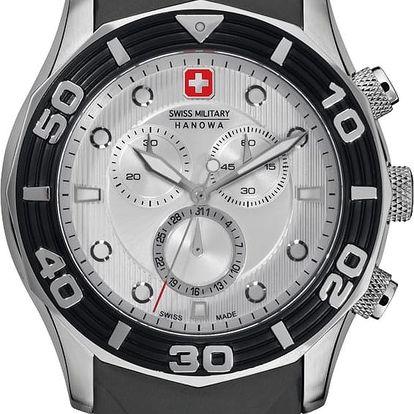 Swiss Military Hanowa 4196.04.001.07 + pojištění hodinek, doprava ZDARMA, záruka 3 roky