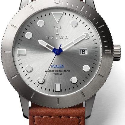 Triwa Stirling Hvalen Brown Sewn Classic TW-HVST102-SC010212 + pojištění hodinek, doprava ZDARMA, záruka 3 roky