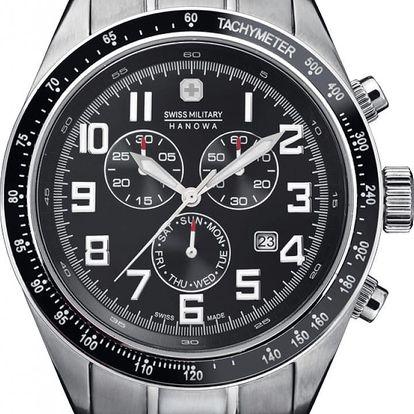 Swiss Military Hanowa 5197.04.007 + pojištění hodinek, doprava ZDARMA, záruka 3 roky